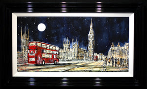 Westminster Bridge at Night - SOLD Nigel Cooke