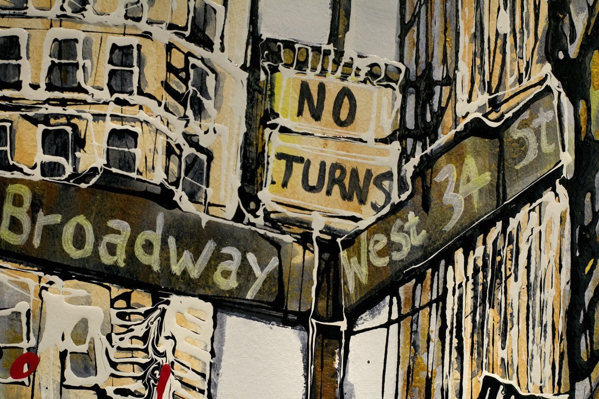 Which Way? - SOLD Nigel Cooke