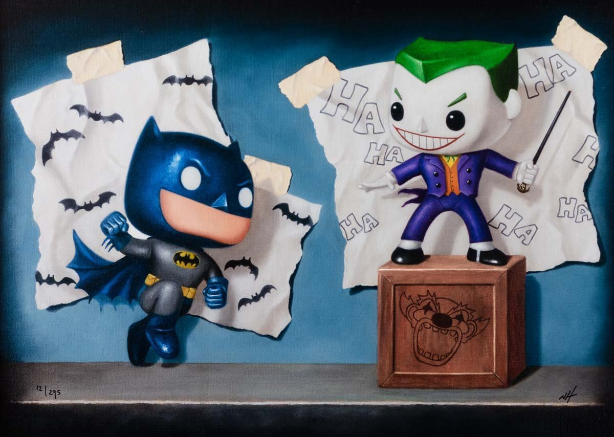 Joker's Lair - Edition Nigel Humphries Framed