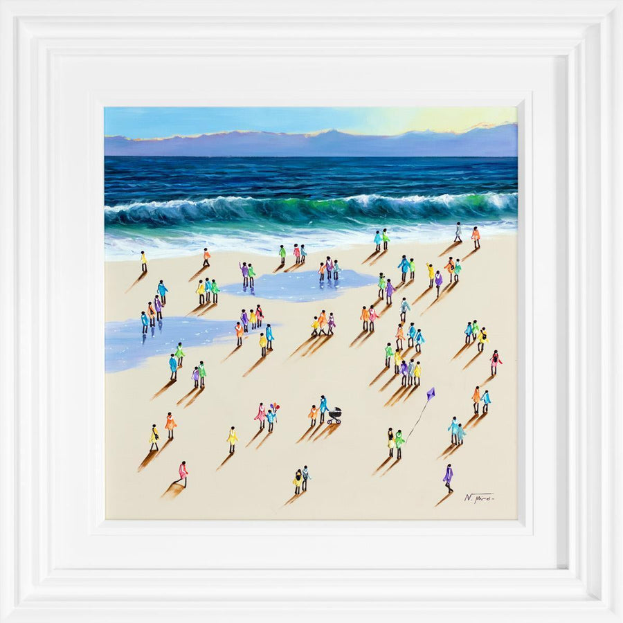 Seaside Promenade - Original Nuria Miro