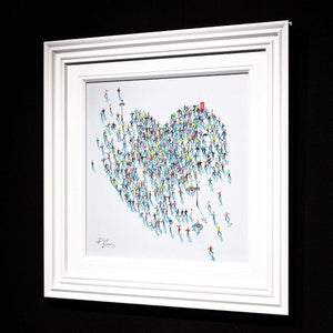 Best of Britain - Original Paola Cassais Framed