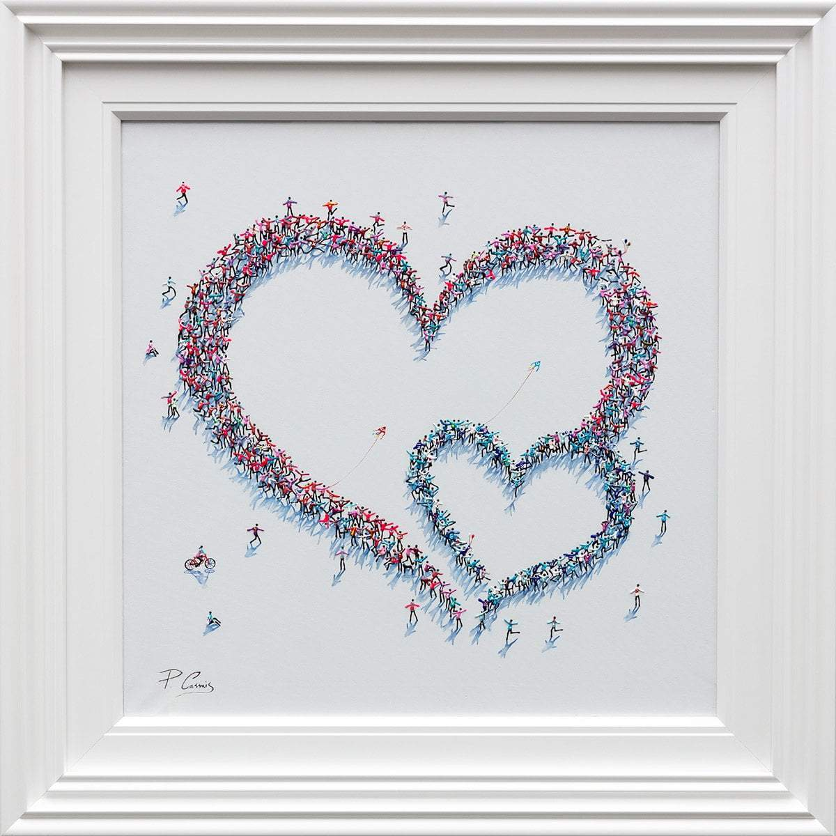 Better Together Paola Cassais Framed
