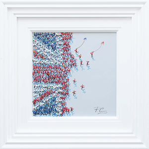 Fans United - Original Paola Cassais Framed
