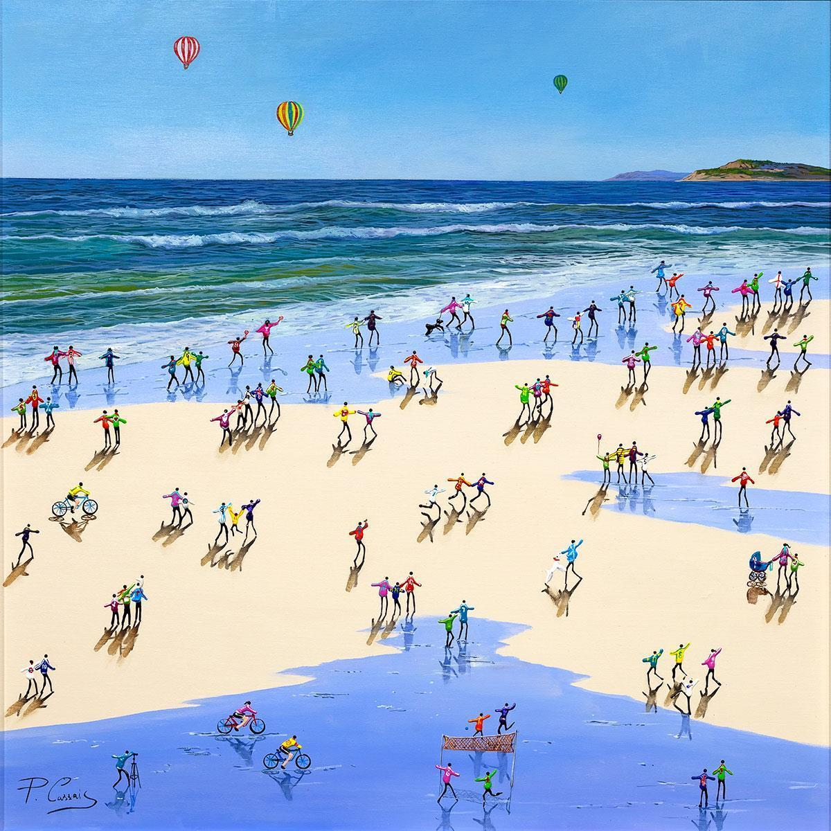 Fun In The Sun Paola Cassais Framed
