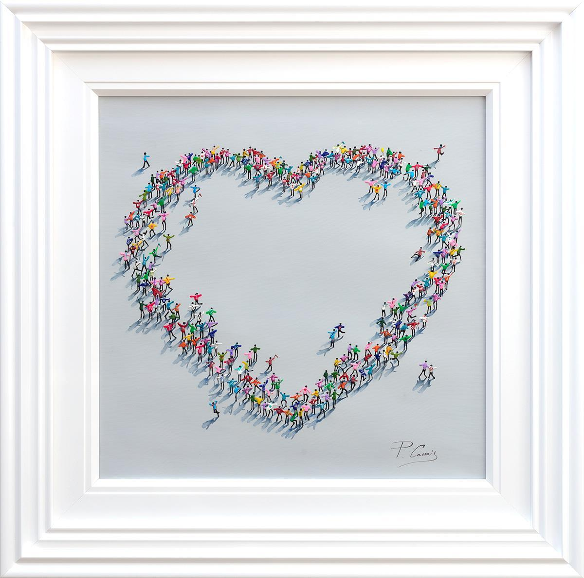 Heart Warming Paola Cassais Framed