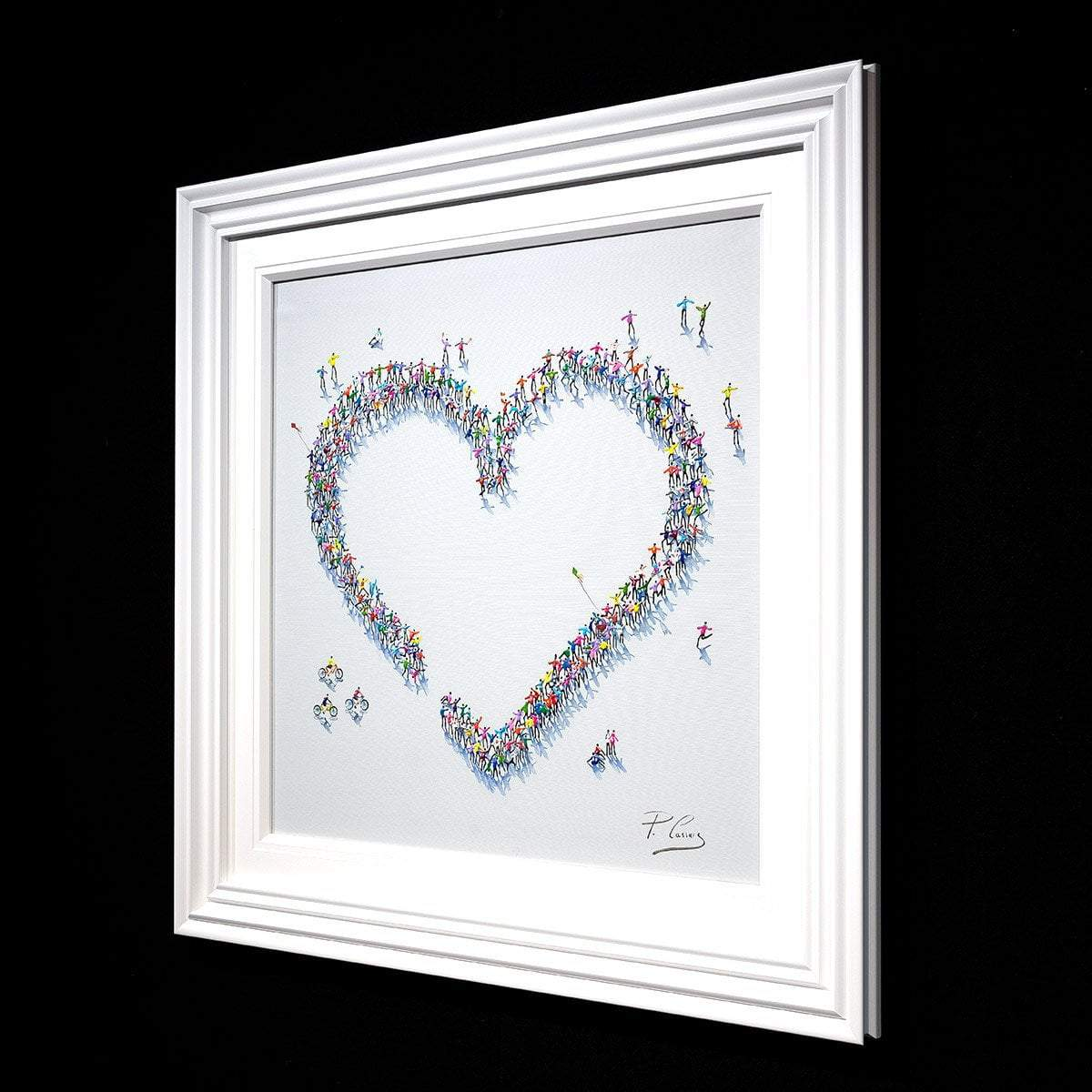 It's Great When We're Together - Original Paola Cassais Framed