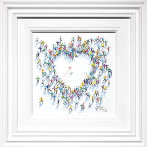 Little Love - Original Paola Cassais Framed