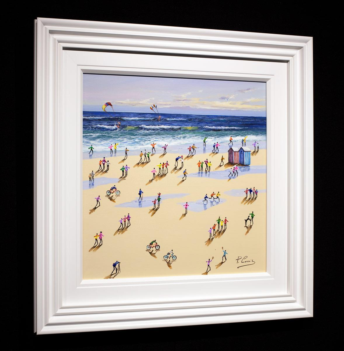 Racing the Wind - Original Paola Cassais Framed