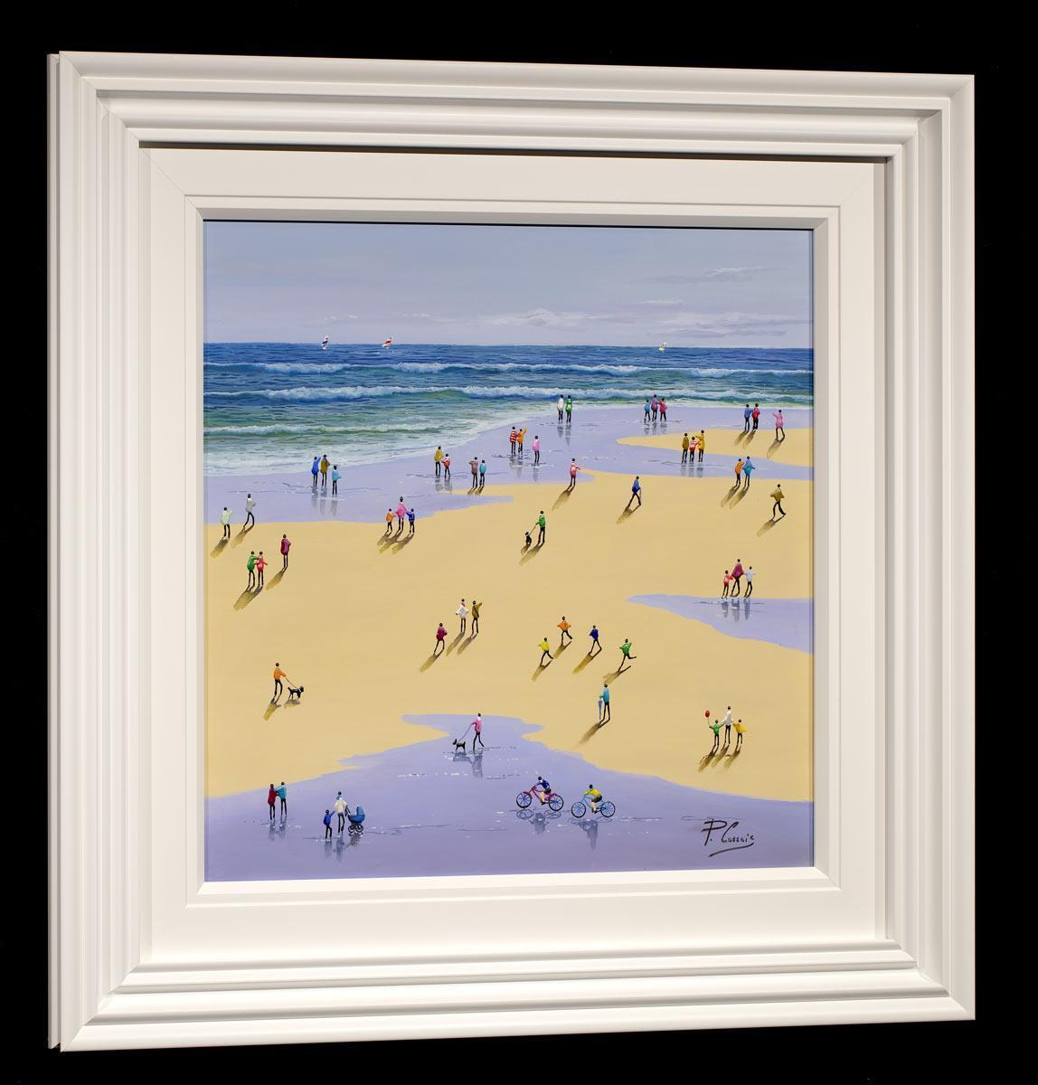 Seaside Memories Paola Cassais Framed