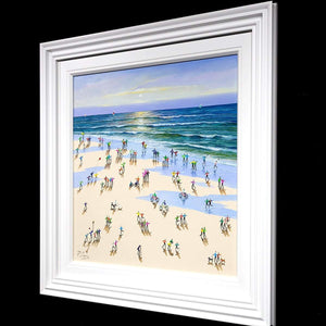 Summer at The Seaside - Original - SOLD