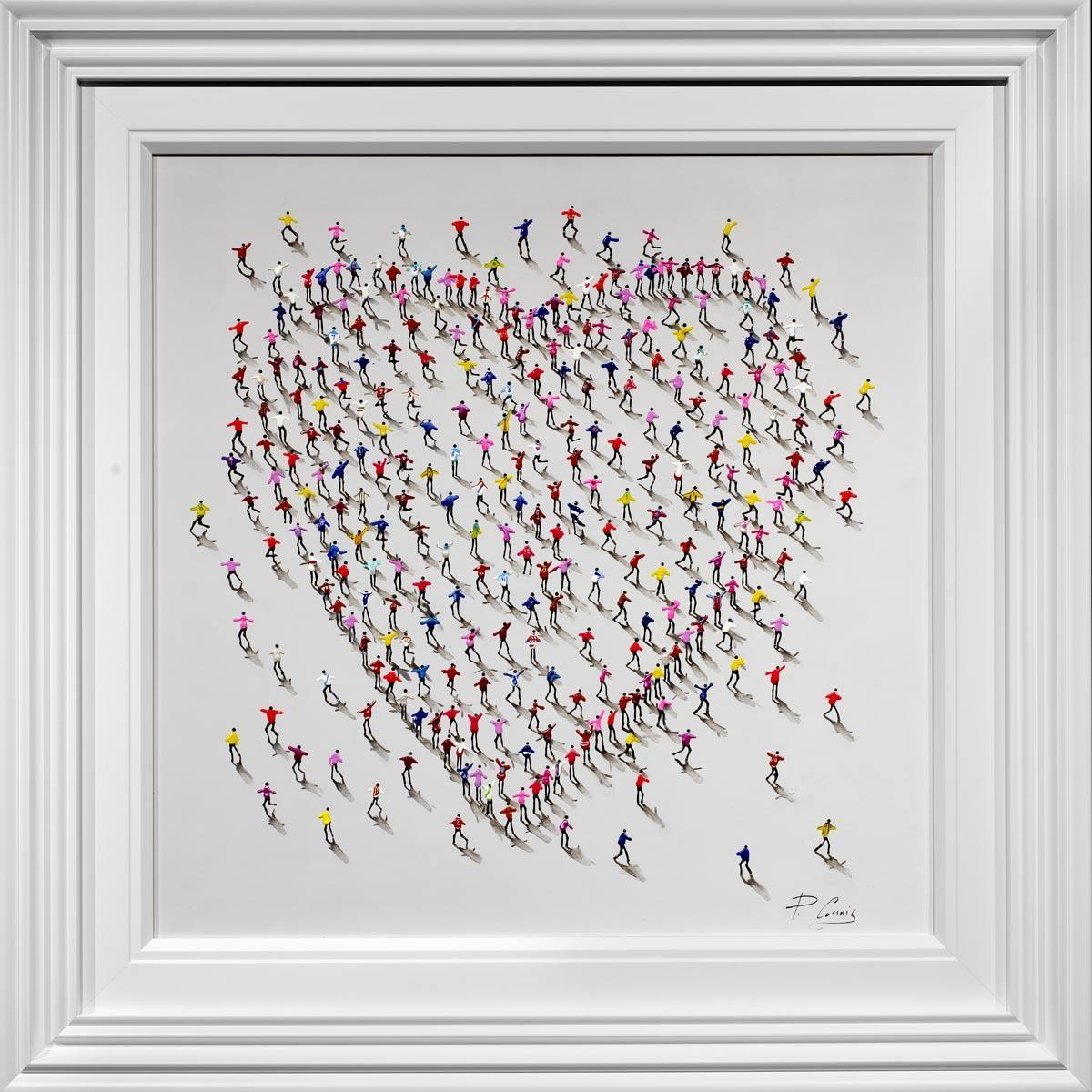 The People You Love Paola Cassais Framed