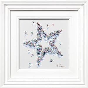 The Star of the Show - Original Paola Cassais Framed