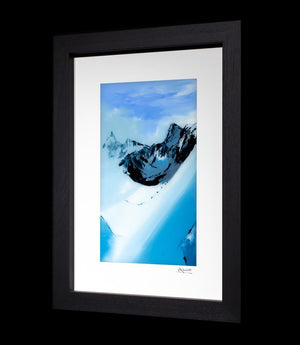 Sky High, Climbers on Mont... Richard King Framed