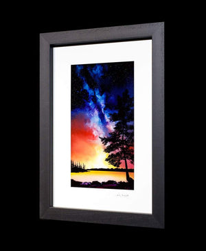 The Sky Is Your Neighbourhood - Original Richard King Framed