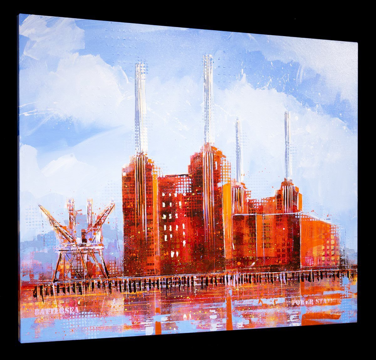 Battersea Dusk - Original Richard Knight Loose