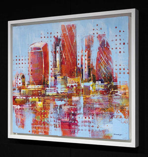 City of Colour - Original Richard Knight Framed