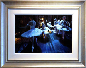 After Degas - Warming Up - SOLD Rob Hefferan
