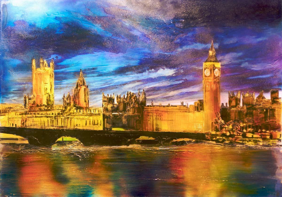 London By Night - Original Robin Eckardt