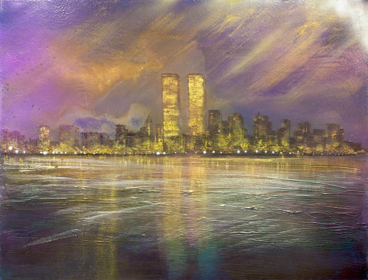 Skyline Reflections - Original Robin Eckardt