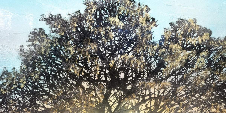 Sunlight Through The Trees - Original Robin Eckardt Original