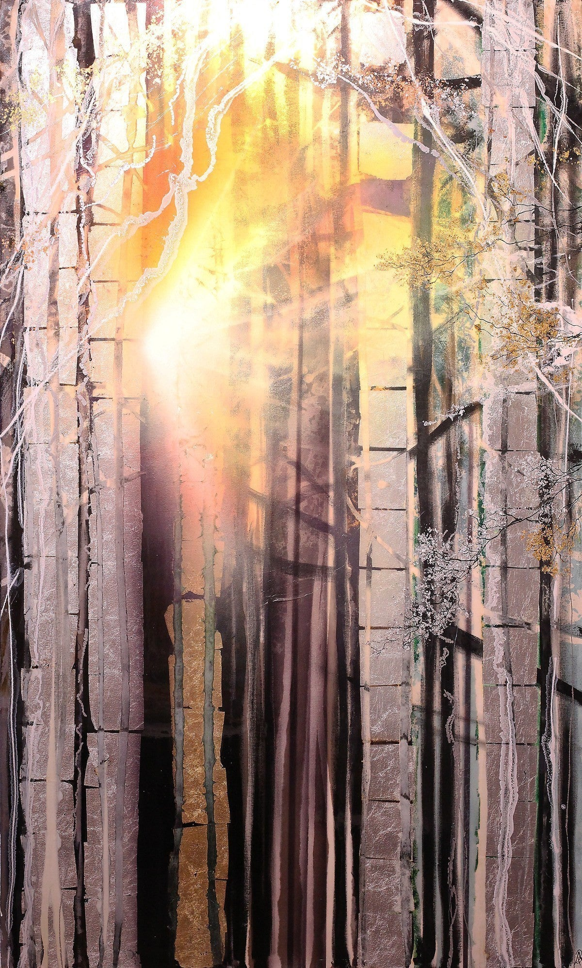 Sunlight Through the Trees - SOLD Robin Eckardt