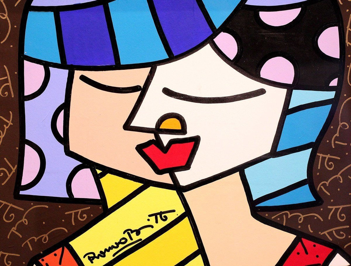 Untitled - ORIGINAL Romero Britto