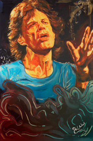 The Blue Smoke Suite Mick - Edition Ronnie Wood