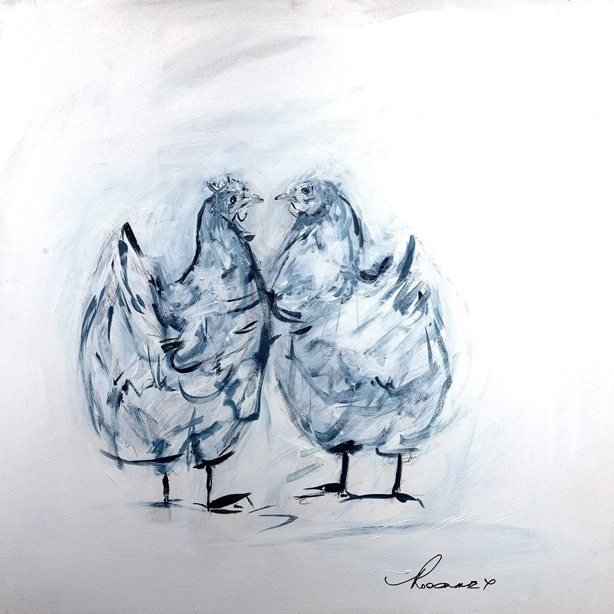 Chicken Love - Sketch Original (Exclusive Gift)