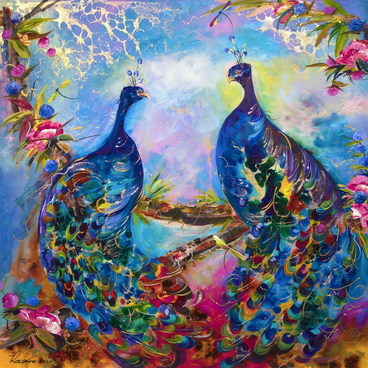 A Glorious Display - SOLD Rozanne Bell