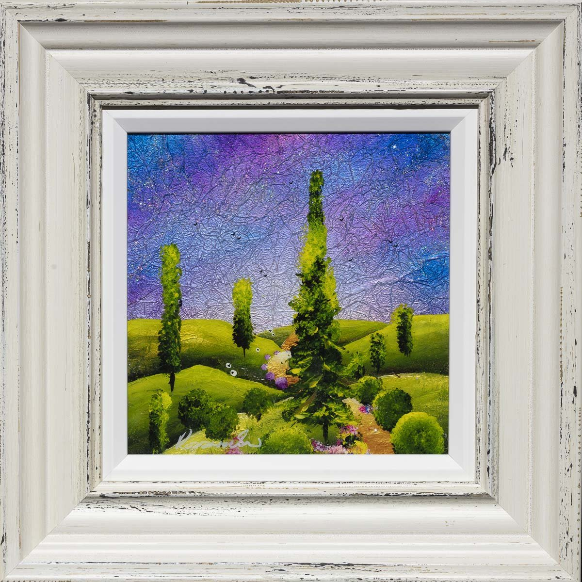 A Long Way From Home - Original Rozanne Bell Framed