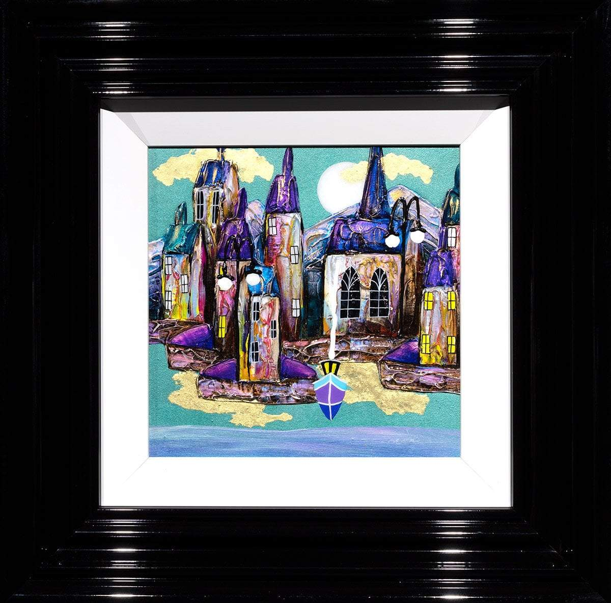 A Pleasant Place - Original Rozanne Bell Framed