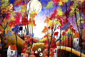 Autumn Colours I - SOLD Rozanne Bell