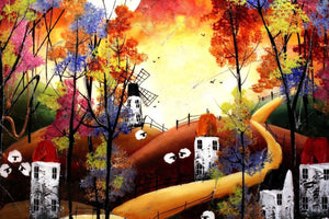 Autumn Colours II - SOLD Rozanne Bell