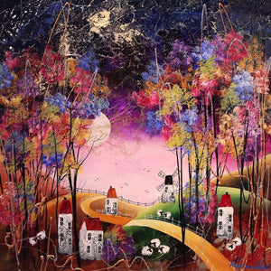 Autumn Evening - SOLD Rozanne Bell