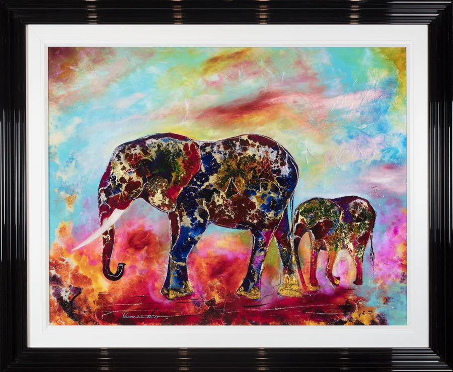 Baby Elephant Walk - SOLD Rozanne Bell