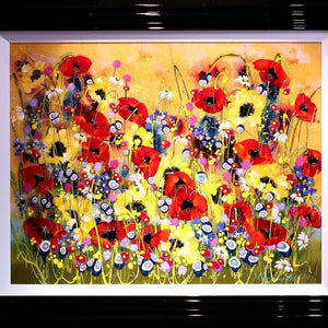 Beautiful Blooms - SOLD Rozanne Bell