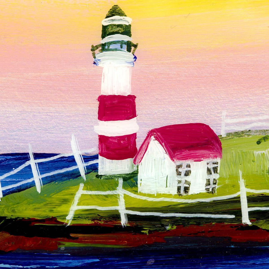By The Lighthouse - Original Rozanne Bell