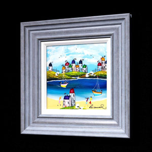 Childhood Memories II Rozanne Bell Framed