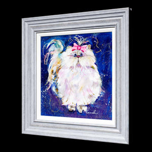 Coco - Original Rozanne Bell Framed