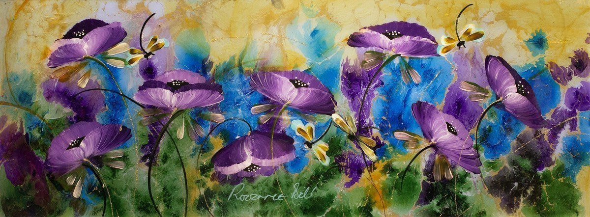 Dancing Dragonflies - SOLD Rozanne Bell