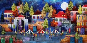 Evening Market II - SOLD Rozanne Bell