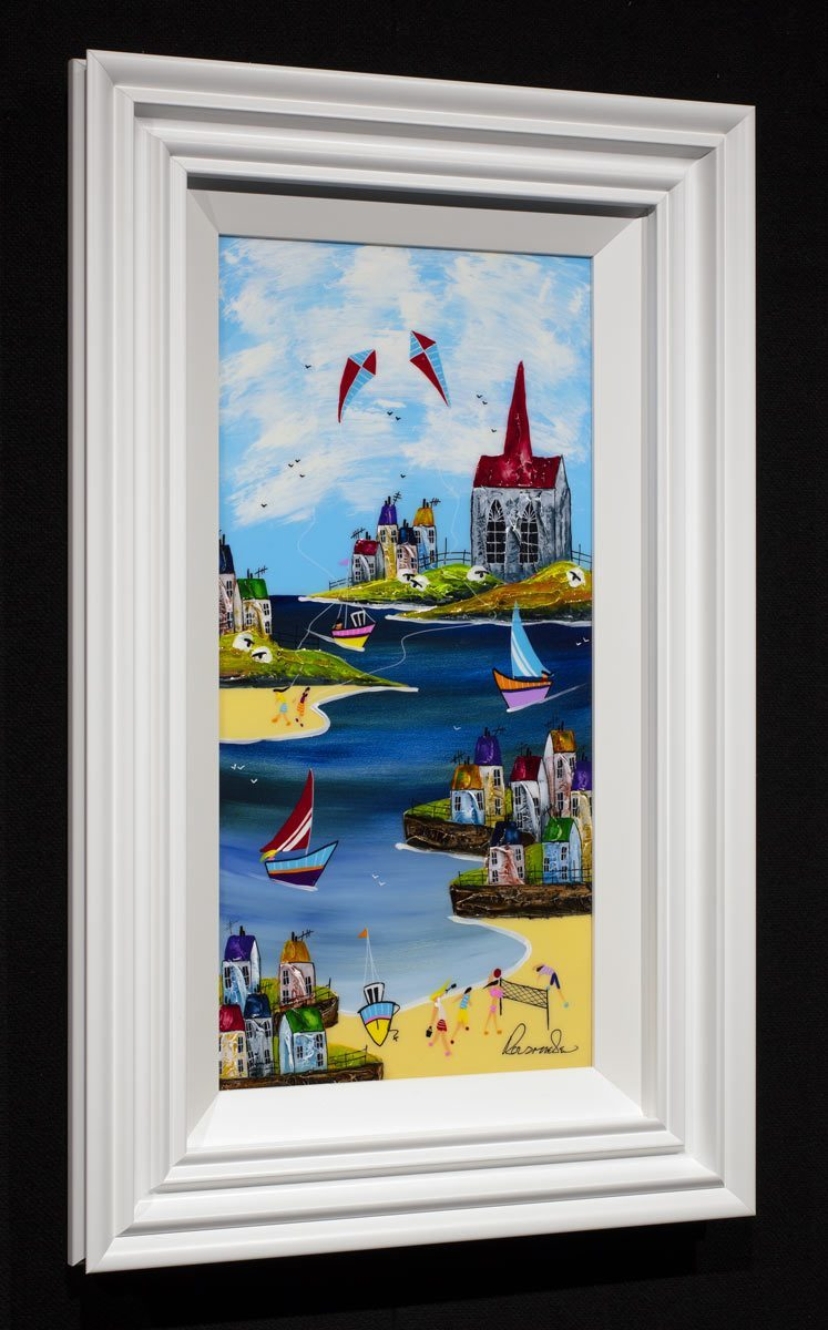 Flying High - Original Rozanne Bell Framed