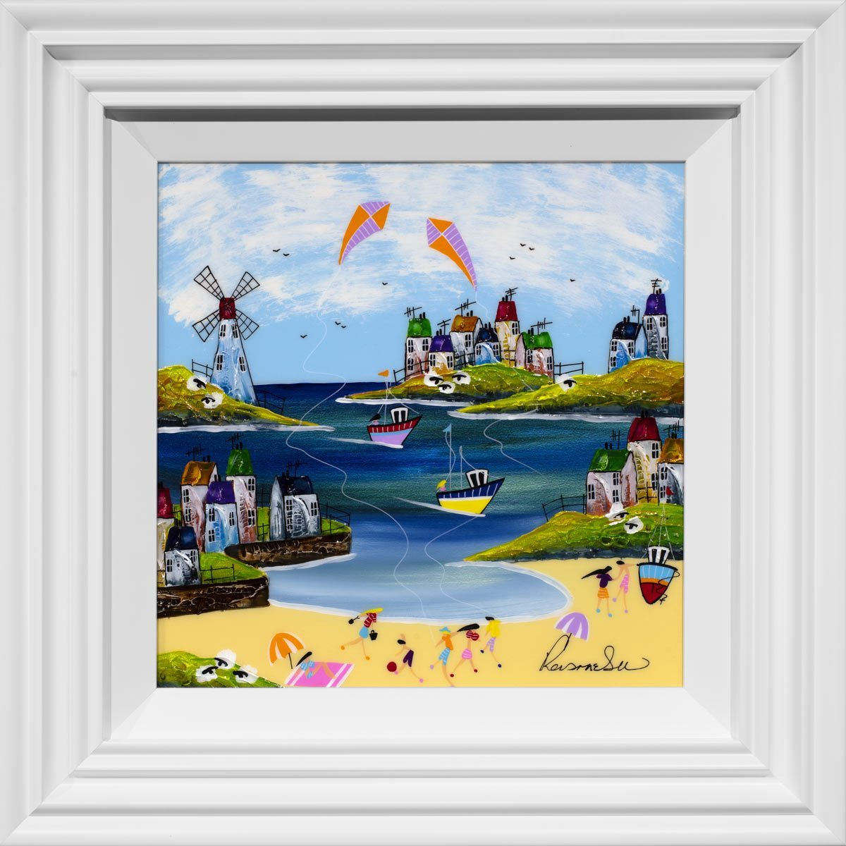 Fun and Games Rozanne Bell Framed