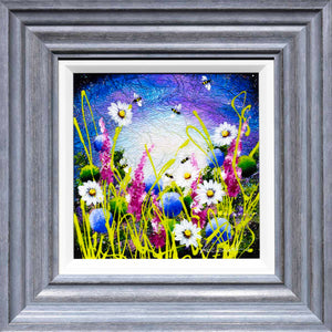 Glimmers of Dawn - Original Rozanne Bell Framed