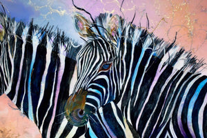 Go Faster Stripes - SOLD Rozanne Bell