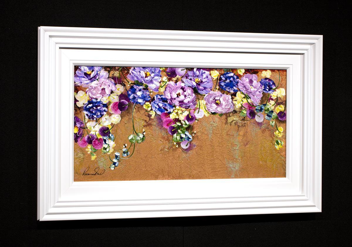 Golden Display - Original Rozanne Bell Framed
