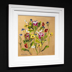 Golden Summer - Original Rozanne Bell Framed