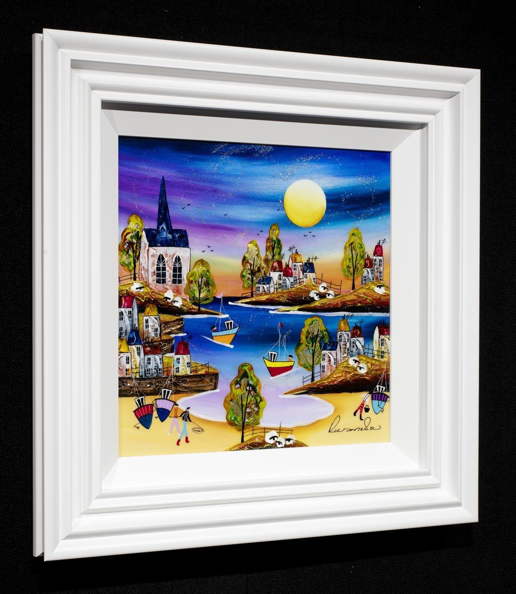 Harbour Approach Rozanne Bell Framed