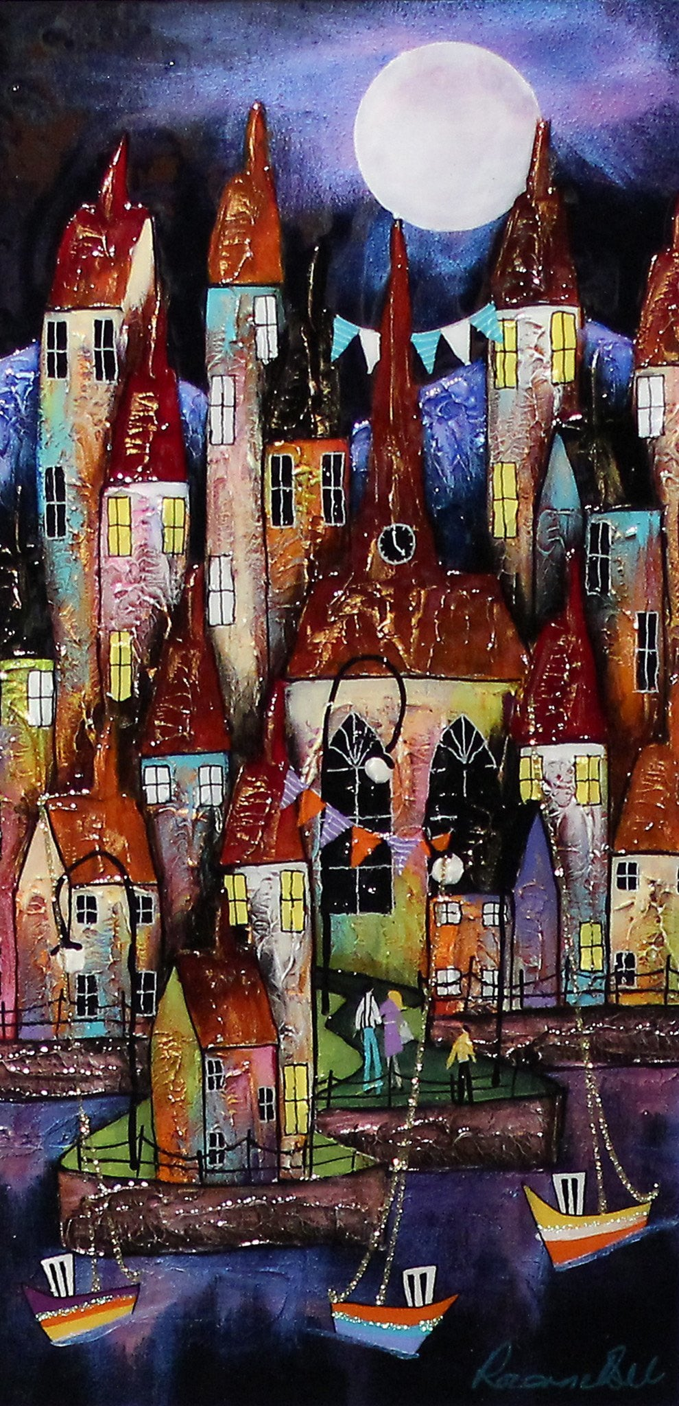 Harbour Lights - SOLD Rozanne Bell