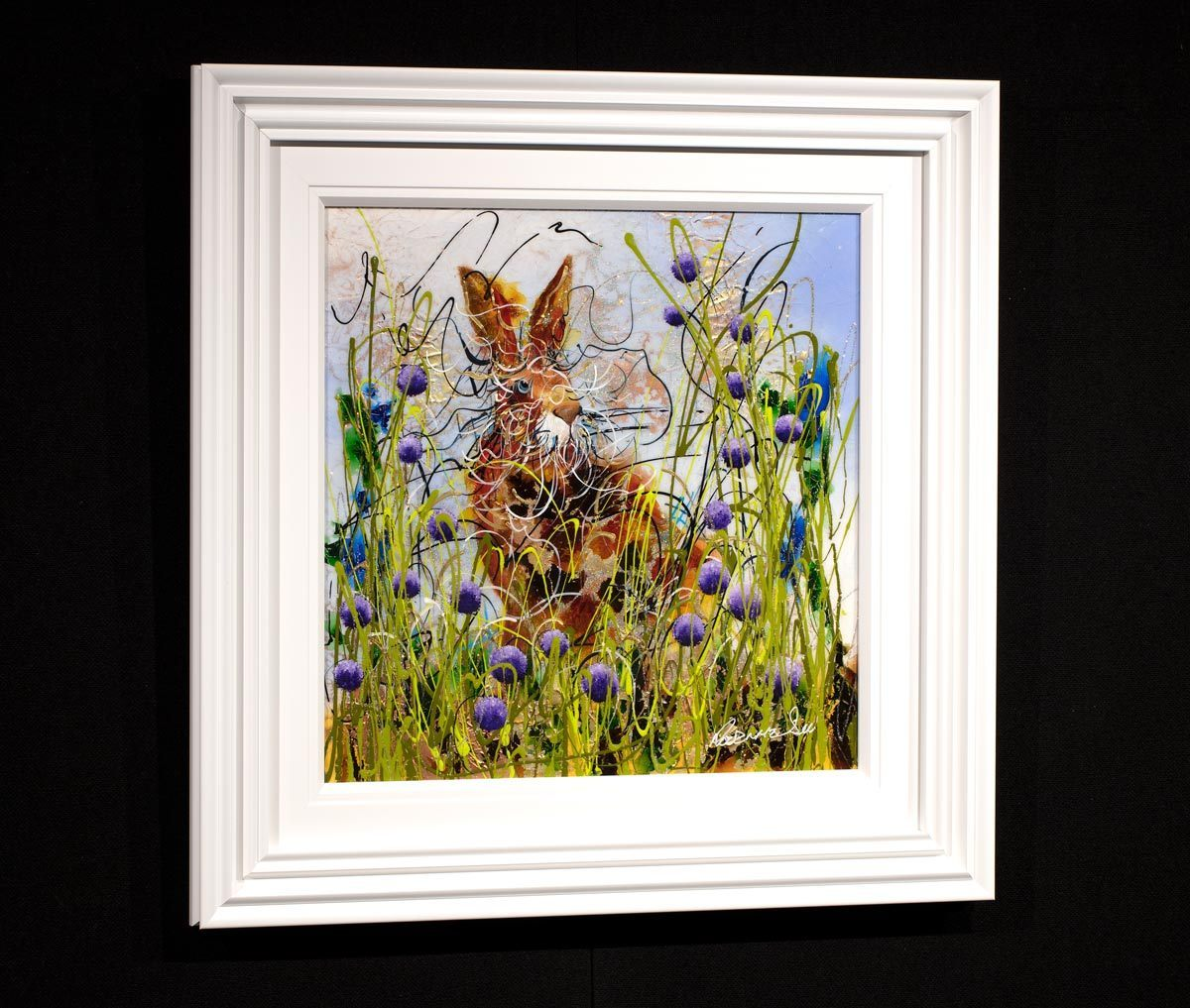 Harry - Original Rozanne Bell Framed